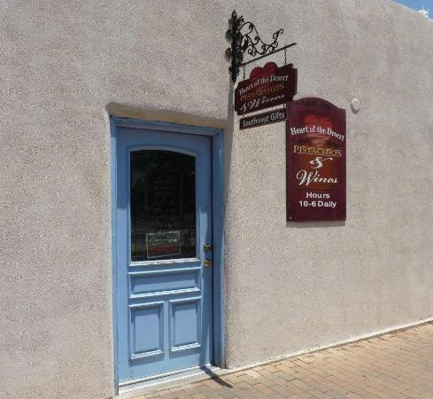 Mesilla, NM: Main Entrance on The Plaza