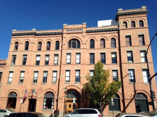 The Bozeman Cool Building In Downtown Bozeman Mt