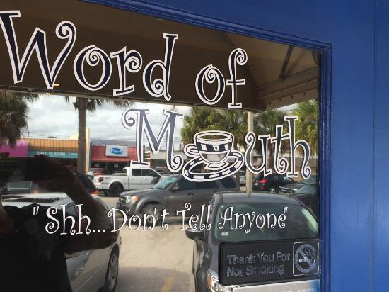 Original Word of Mouth: Front entrance
