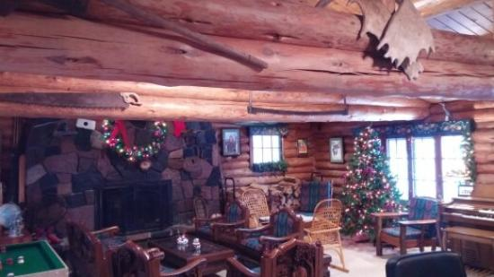 Lutsen, MN: check out the log beams