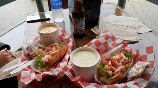 Lazy Lobster: Lobster rolls, clam chowder and lobster bisque