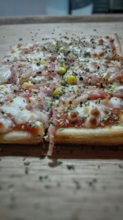 Galapagar, Espanha: Pizza Por Metro