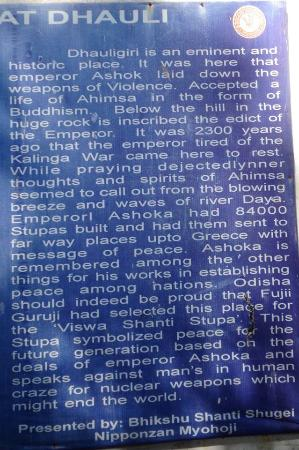 Emperor Ashoka gave up violence after Kalinga War ...