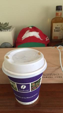Suffolk Park Bakery: Coffee cup