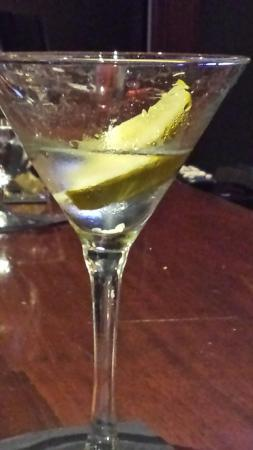 Bay Harbor, MI: Detroit dirty martini with McClurer's pickle brine.