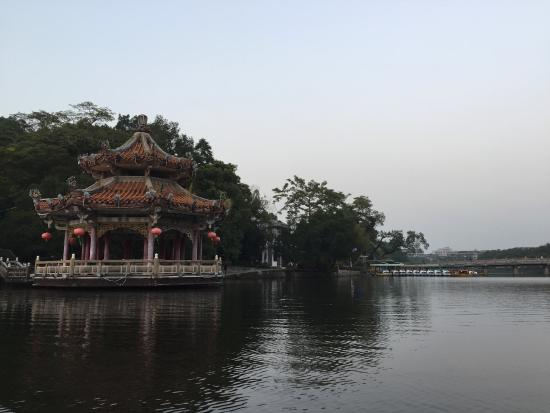 Chaozhou, Cina: Lake view