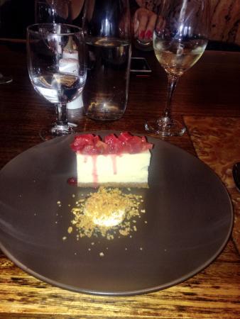 Steakhouse 66: Cheese Cake for dessert