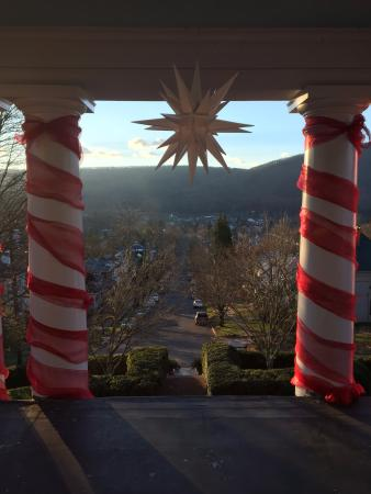 Clifton Forge, Wirginia: View from upstairs