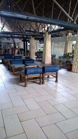 Lounge area from the reception
