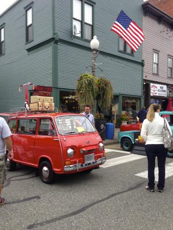 Hot Rod Show at Historic Downtown Snohomish