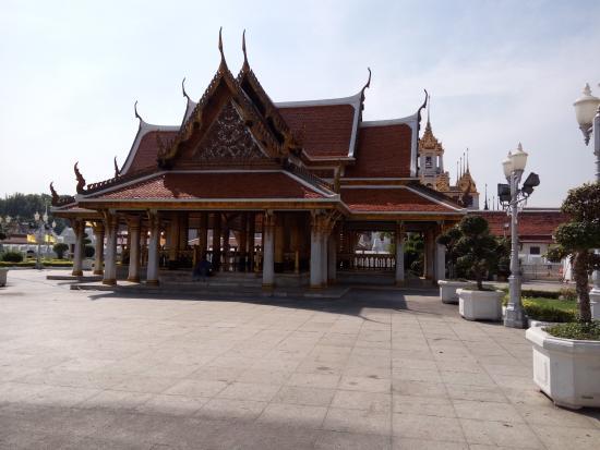 Buddha Image inside Wat Ratchanatdaram - Wat ...