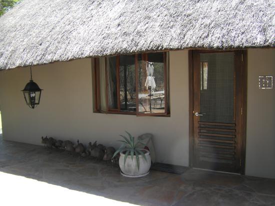 Mushara Lodge: Außenansicht