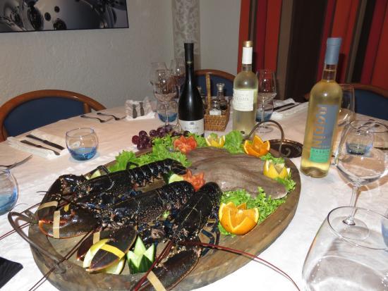 Auberge Pierrot: invitez un homard a votre table