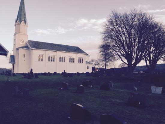 Lardal Municipality, Norway: Svarstad Church 2015