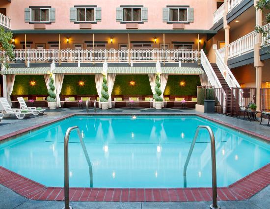 Ayres hotel suites in costa mesa newport beach ca - Maison d architecte orange county californie ...