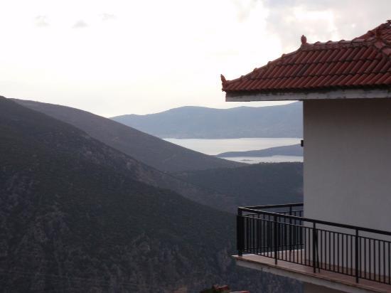 Hotel Kouros: Вид из номера