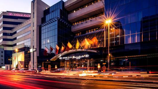 Crowne Plaza Dubai-Deira: Crowne Plaza Dubai Deira - Hotel Exterior Night - Eye Level