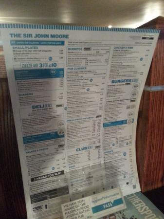 St John Moores Pub Glasgow