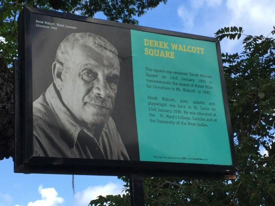 Derek Walcott Square