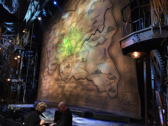 gershwin theatre seating chart obstructed view: Gershwin theater for wicked seats orchestra row a far right 10 12