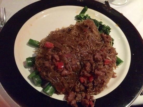 ShunLee West: Ants climb on tree-shredded beef with cellophane noodles