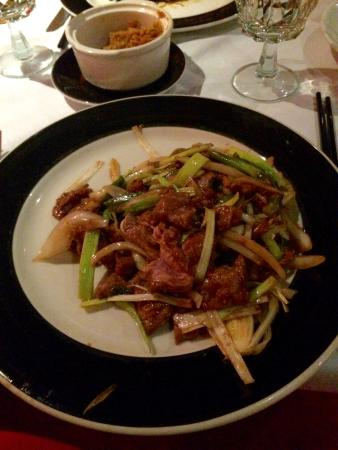 ShunLee West: Lamb with leeks