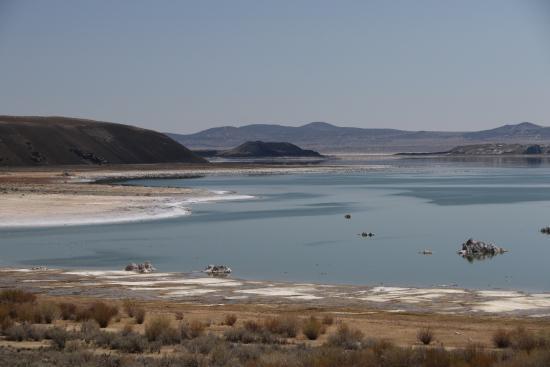 Lee Vining, Καλιφόρνια: Mono Basin Scenic Area Visitor Center #5