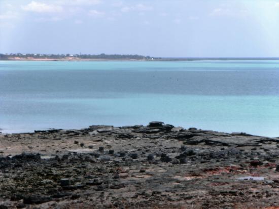 Broome Deep Water Wharf & Jetty: View towards Boome