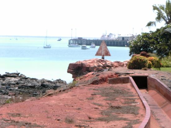 Broome Deep Water Wharf & Jetty: View towards the Wharf