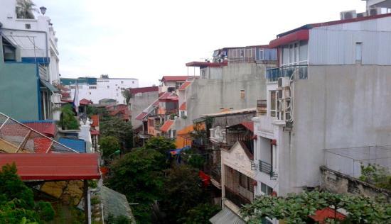 Golden Time Hostel 3: Uitzicht van kamer #401
