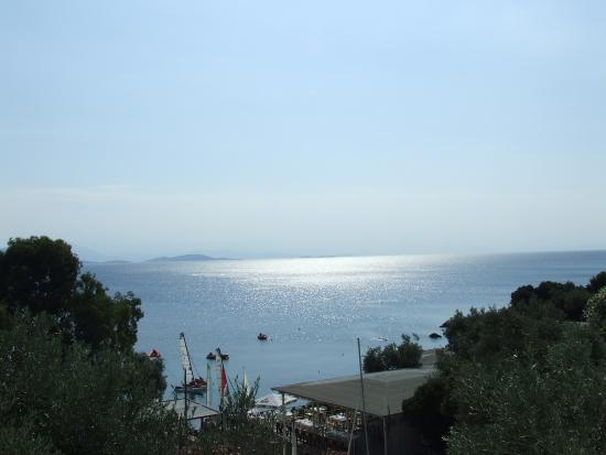 Chorto, Grecia: View from balcony