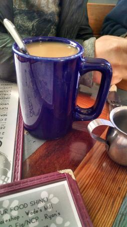 The Little Grill Collective: Coffee with Soy Creamer