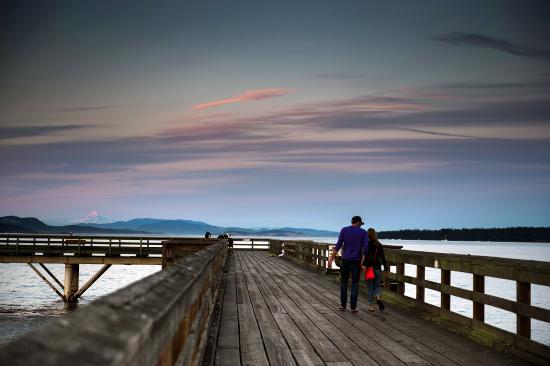 Victoria, Kanada: Romantic Sidney Pier