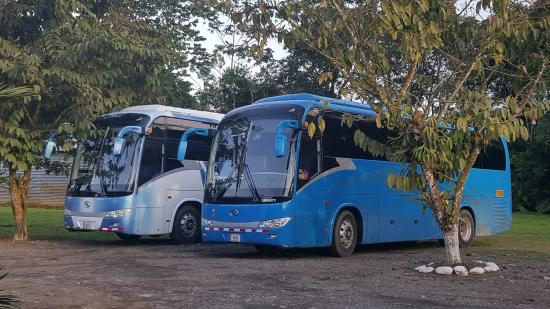 Guapiles, Kostaryka: Parking