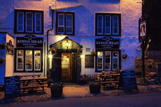 Kettlewell, UK: Summer night at the King's Head, 2012