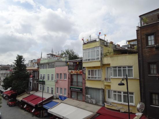 Gul Sultan Hotel: 部屋から