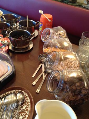 Hotel Rheintal: Petit déjeuner
