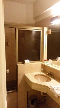Hotel Alvear: Habitación - Baño