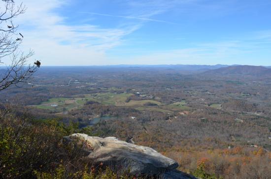 Sylvan Valley Lodge : View from the top of Yonah Mountain