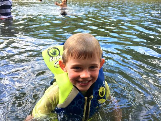Nosara Day Camp: A cookout then a cool river swim...