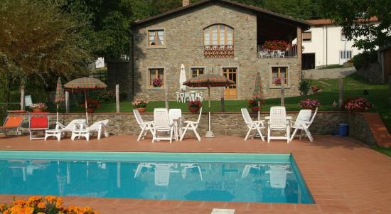 Castiglione di Garfagnana, Italien: Abitazione Poderino con piscina