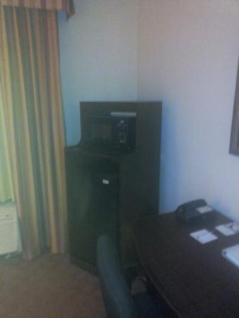Hampton Inn Houston/Humble-Airport Area: Mini Fridge/Microwave