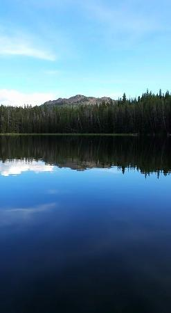 Lake in the Big Horns Wyoming