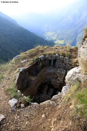 Serrada, Ιταλία: Forra del Lupo - Postazione