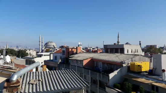 Divani Ali Hotel: View from the roof