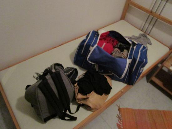 Hotel Timon: Letto