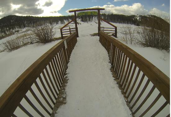 Beaver Meadows Resort Ranch: Tubing