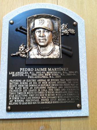 hof plaque for pedro martinez picture of national baseball hall of rh tripadvisor ie
