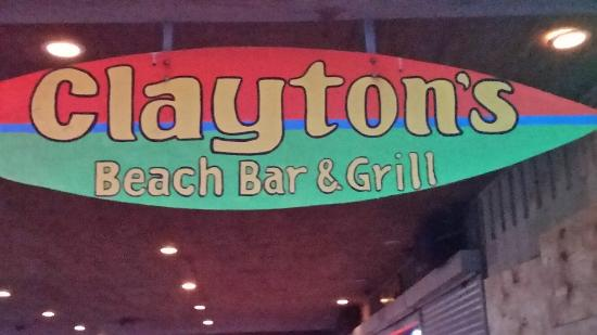Clayton S Beach Bar And Grill A Short Walk From Our Resort