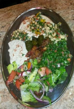 Villa of Lebanon: Vegetable Sampler Platter